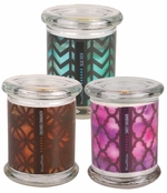 Geometric Scented Candles by WoodWick