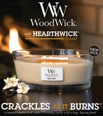 HearthWick Flame Scented Candles by WoodWick
