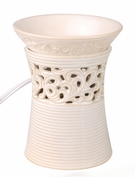 HOURGLASS WAX TART MELTER by WoodWick