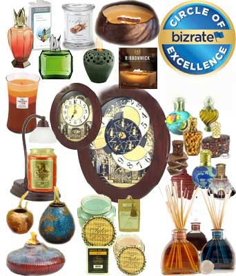 Courtneys Candles - Rhythm Small World Magic Motion Clocks, Seiko Melodies in Motion Clocks,  Fragrance Lamps by Lampe Berger, Alexandria &amp La-Tee-Da, Reed & Ceramic Diffusers, Firepots  & Scented Candles