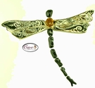 Jewel Dragonflys Collection - Clayworks Studio Originals