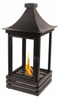 Kazu Flame Lantern 29 Inch Flame Pot by Pacific Decor