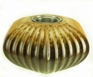 Large Austin Golden Brown PatioGlo Burner or Fire Pot by  Marshall Group
