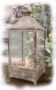 Large North Shore Fire Lantern PatioGlo Burner or Fire Pot by Marshall  Marshall Group