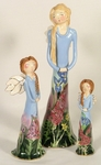 Large Robin's Praying Angel - Clayworks & Blue Sky