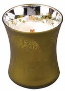 LATE HARVEST Medium Decor Glass WoodWick Scented Candle
