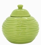 Lime Strata LONGFIRE Flamepot or Fire Pot by Pacific Decor