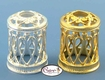 Loop Style - Gold & Silver - Replacement Decorative Shades for Fragrance Lamps