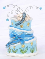 March Birthday Cake - Clayworks Blue Sky 2008