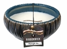 MIDNIGHT SEA MEDIUM ROUND RibbonWick Scented Candle