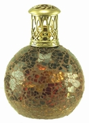 Mini Amber Mosiac Fragrance Lamp