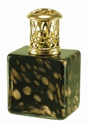 Mini Square Black Gold Fragrance Lamp