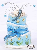 Month Birthday Cakes - Clayworks Blue Sky 2008