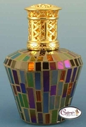 Multi Color Casablanca Mosaic Fragrance Lamp by Courtneys