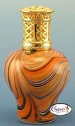 Multi Color Swirl Naples Fragrance Lamp by Courtneys