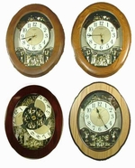 Nostalgia Rhythm Clock Family