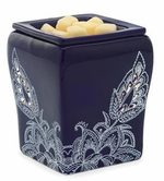 OCEAN FLORA Illumination Fragrance Warmer by Candle Warmers
