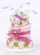 October Birthday Cake - Clayworks Blue Sky 2008