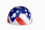 Old Glory Aurora  Candle Warmer Lamp Shade