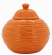 Orange Strata LONGFIRE Flamepot or Fire Pot by Pacific Decor