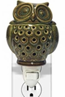 OWL Plug In Wax Melter or Warmer by A Cheerful Giver