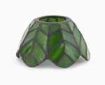 Palm Leaves Aurora  Candle Warmer Lamp Shade