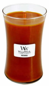 PATCHOULI WoodWick 22oz Scented Jar Candle