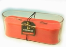 PERSIMMON NECTAR LARGE  OVAL RibbonWick Scented Candle