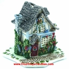 Poppies Candle House - Clayworks Blue Sky 2005