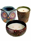 Premium WoodWick Scented Candles