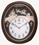 Princess Fantasy Musical Clock by Rhythm Clocks - Updated Version of Cinderella