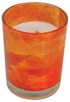 PUMPKIN STRUDEL Decal Glass 13 oz WoodWick Scented Candle