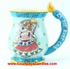 Queen of 29 Forever Mug - Clayworks Blue Sky