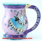 Queen of a Day Mug - Clayworks Blue Sky