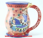 Queen of Mothers Mug - Clayworks Blue Sky