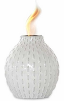 Raindrops Flame Pot by Pacific Decor