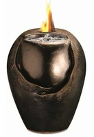 Raku 15 Inch Flame Fountain by Pacific Decor