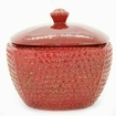 Red LONGFIRE Flamepot or Fire Pot by Pacific Decor
