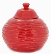 Red Strata LONGFIRE Flamepot or Fire Pot by Pacific Decor