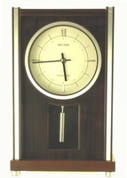 Richmond WSM Musical - Chiming Mantel Clock by Rhythm Clocks