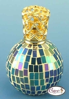 Rio Blue Mosaic Fragrance Lamp by Courtneys