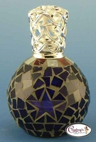 Rio Blue Star Mosaic Fragrance Lamp by Courtneys