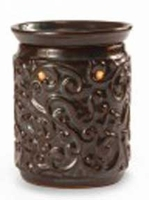 ROCOCO BROWN  Fragrance Warmer - Wax Melter by AmbiEscents