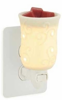 ROUND PORCLEAIN Plug In Warmer by Candle Warmers
