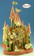 Royal Rose Castle - Clayworks Studio Original by Heather Goldminc