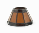 Rustic Brown Aurora  Candle Warmer Lamp Shade