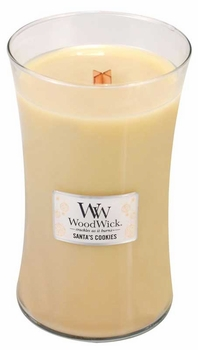 Santa's Cookies WoodWick 22 oz Large Jar Candle