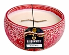 SCARLETT BERRY LARGE ROUND RibbonWick Scented Candle