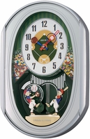 Seiko Baseball Clock - QXM256SRH - Melodies in Motion