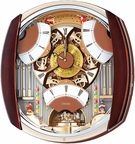 Seiko QXM450BRH Melodies in Motion Musical Clock